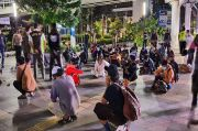 Puluhan Remaja Kena Razia lalu Rapid Antigen, Netizen: Gratis Nih Bisa Buat Rujukan Keluar Kota