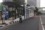 Terdampak Proyek MRT Bundaran HI-Kota, Halte Sementara Bank Indonesia Dioperasikan
