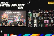 Realme Buktikan Cintanya ke Fans lewat #realmeVirtualFanFest2020