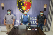 Terlibat Judi Online, 3 Warga Meureudu Digeladang ke Polres Pidie