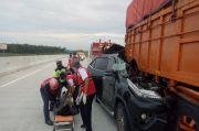 Hantam Truk di Jalan Tol Trans Sumatera-Lampung, 2 Penumpang Fortuner Tewas Seketika