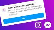Sejumlah Fungsi Messenger dan Instagram di Eropa Dibatasi Facebook