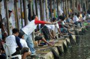 Berebut Hoki, Lomba Mancing Jadi Hiburan di Kala Pandemi