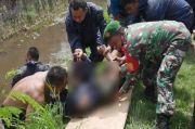 Geger, Mayat dengan Leher Terikat Tali Rafia Ditemukan di Sungai Gladak Serang