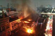Berkas Tersangka Kebakaran Gedung Kejagung Klaster Pekerja Rampung