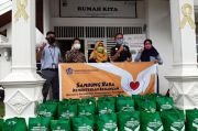 Kemenkeu Peduli Salurkan 350 Paket Sembako dalam Program Sambung Rasa