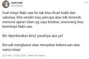 Kasus Mimpi Haikal Hassan, Cholil Nafis: Kira-kira Pasalnya Apa?