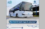 Siap Beroperasi di Jakarta, Bus Listrik Transjakarta 40% Lokal