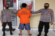 Diduga Terlibat Korupsi, Sekdes Pekon Kutawaringin Ditahan Polisi
