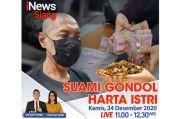 iNews Siang Live di iNews dan RCTI+ Kamis Pukul 11.00: Suami Gondol Harta Istri