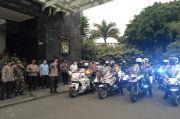 Polri-TNI dan Satpol PP DKI Patroli Skala Besar Amankan Malam Natal