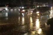 Banjir Mulai Surut, Jalur Pasteur Bandung Bisa Dilalui Kendaraan