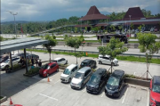 Libur Natal, Rest Area KM 456 Tol Semarang - Solo Landai