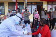 Kampung Tangguh Jaya, Polresta Bandara Soetta Bagikan Beras dan Rapid Test Antigen Gratis