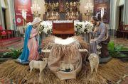 Dekorasi Natal 2020 di Gereja Katedral Jakarta Padukan Budaya Lokal dan Tradisi Kristiani