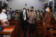 Jamin Keamanan Natal, Kapolda Banten-Forkopimda Patroli ke Gereja