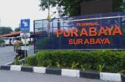 Terminal Purabaya Terpantau Sepi saat Libur Panjang Natal dan Tahun Baru