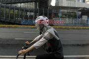 Aksi Penyiraman Air Keras Teror Pesepeda di Yogyakarta