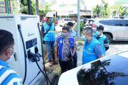 Cek Kesiapan SPKLU, PLN Tes Geber Mobil Listrik Jakarta-Bali