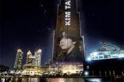 V BTS Bakal Jadi Idola Pertama yang Fotonya Tampil di Burj Khalifa