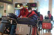 Timnas Indonesia U-19 Tiba di Spanyol Setelah Terbang 18 Jam