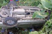 Sopir Ngantuk, Minibus Terjun ke Jurang di Talaud, 1 Penumpang Tewas 7 Terluka