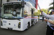 Mantap! Bus Listrik Transjakarta Mulai Mondar-mandir Tahun Depan