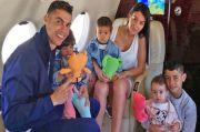 Ronaldo Ceritakan Momen Lucu ketika Anak Bungsunya Ketahuan Makan Cokelat