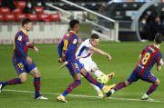 Ditonton Messi di Tribun, Barca Tersendat Ditahan Eibar