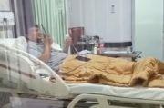 Menyentuh, Doa Aa Gym lewat HT saat Dijenguk Yusuf Mansur di Balik Ruang Isolasi COVID-19