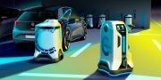 Volkswagen Buat Robot Pengisi Ulang Baterai Mobil Listrik