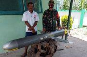 Komando Armada II Surabaya Teliti Benda Mirip Rudal yang Ditemukan di Selayar