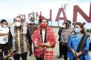 Tinjau Danau Toba, Menteri Sandiaga Ajak Pemangku Kebijakan Berkolaborasi Bangkitkan Pariwisata