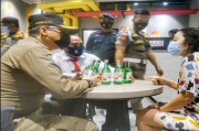 Razia Pekat, Puluhan Orang dan Ratusan Botol Miras Diamankan Satpol PP Sumsel