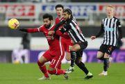 Babak I: Liverpool Ditahan Imbang Newcastle United