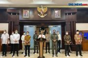 5 Jenderal Dampingi Mahfud MD saat Umumkan Pembubaran FPI
