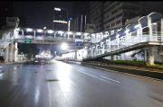 Bak Kota Mati, Kawasan Monas-Bundaran HI Sepi dan Sunyi di Malam Tahun Baru