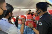 Polda Kepri Lakukan Tes Swab dan Narkoba pada Kru Pesawat di Bandara Hang Nadim