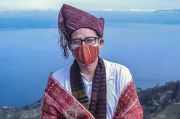 Perdana ke Danau Toba, Sandiaga Uno Gunakan Teknologi untuk Pikat Wisatawan