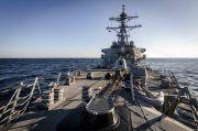 2 Kapal Perang AS Berkeliaran di Selat Taiwan, Abaikan Kemarahan China