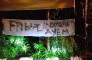 FPI Dibubarkan Jelang Tahun Baru 2021, Sepanduk Dukungan Bertebaran di Rembang