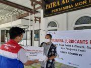 PT Pertamina Lubricants Berbagi Sesama Menjelang Akhir Tahun 2020