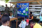 Lanal Melonguane Bangun Rumah Baca di Posal Miangas, Pulau Terluar NKRI