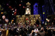 Tahun Baru di Wuhan Meriah saat Sebagian Besar Dunia Lockdown