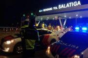 Malam Tahun Baru, Arus Lalu Lintas di Tol Semarang - Solo Lancar
