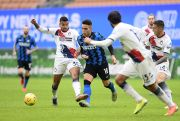 Hat-trick Lautaro Martinez Bawa Inter ke Puncak Klasemen