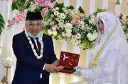 Momen Pernikahan Din Syamsuddin dan Rashda Diana, Ini Foto-fotonya