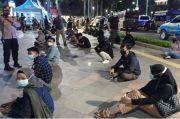 Razia Prokes dan Kerumunan, Puluhan Warga Terjaring Sepanjang Sudirman Thamrin
