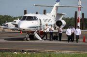 Naik Jet Khusus, 3 Menteri Jokowi Mendarat Mulus di Bandara Ngloram Blora