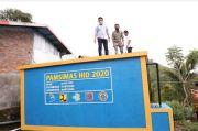 Bupati Bantaeng Uji Fungsi Fasilitas Air Bersih Langsung Minum di Desa Kayu Loe